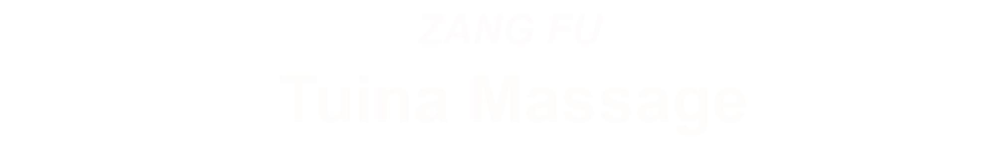 ZANGFU Tuina